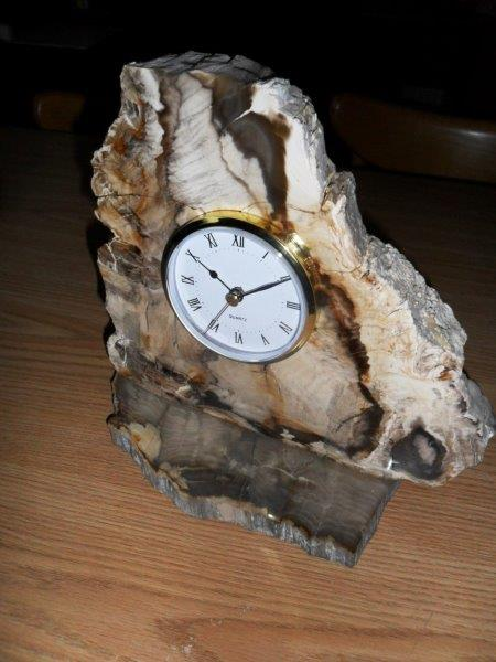 A To Z Minerals And Rock Shop Stone Clocks And Misc Clocks