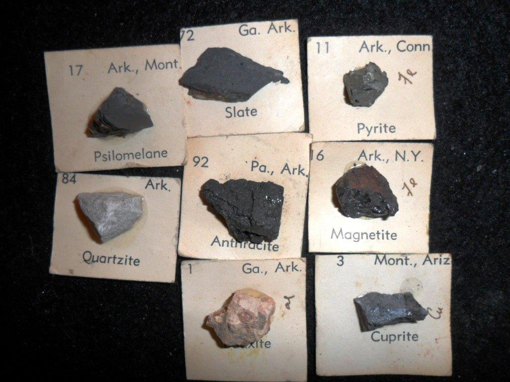 Arkansas State Mineral Collection for Sale