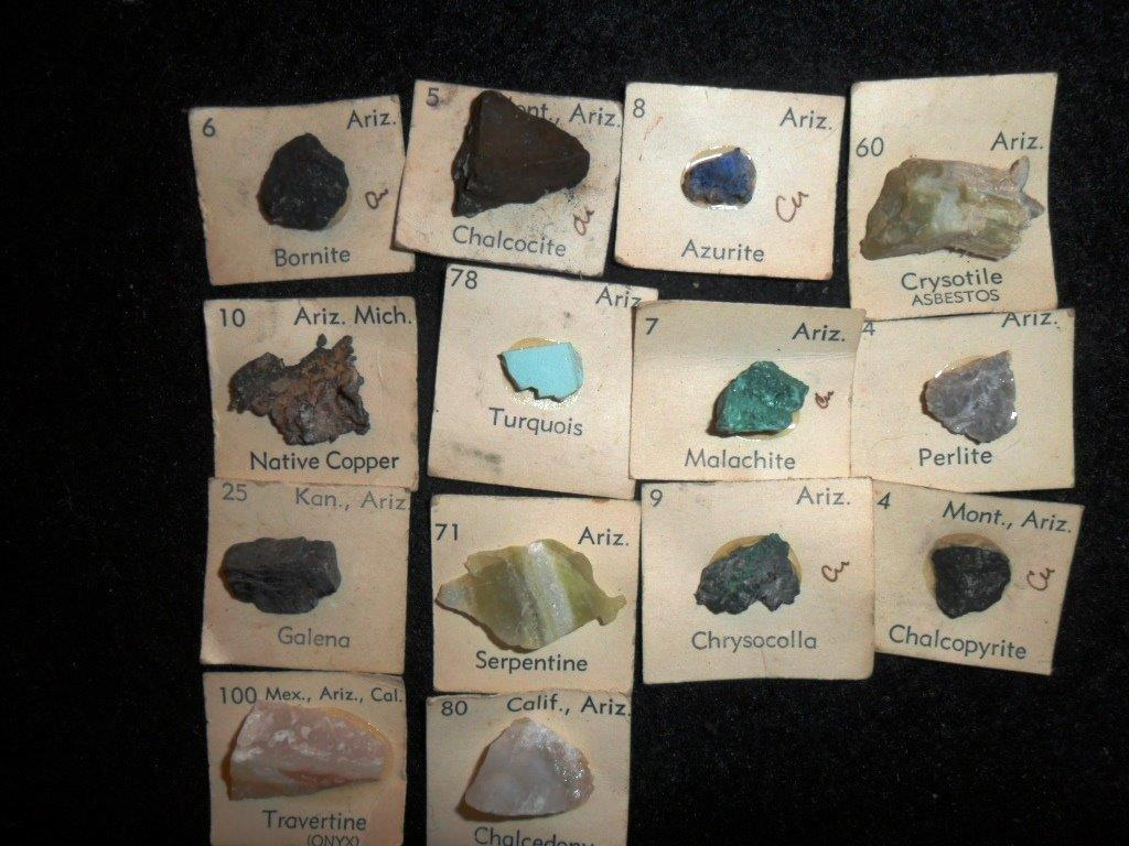AZ State Mineral Collection for Sale