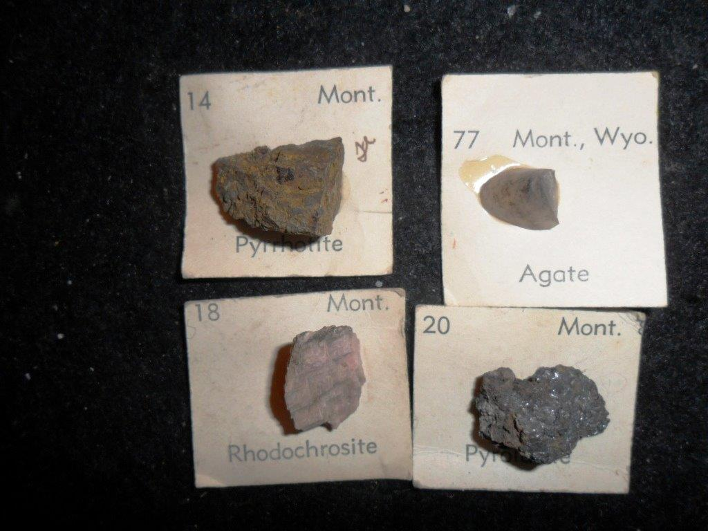 Montana State Mineral Collection